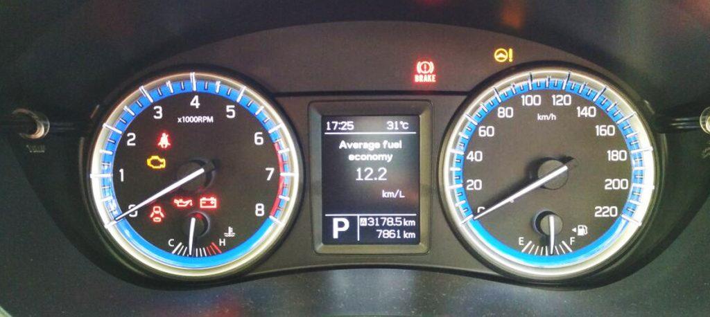 indicator mobil matic